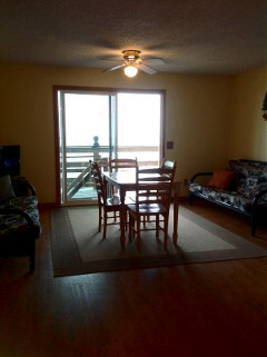 Rental apartment bedroom